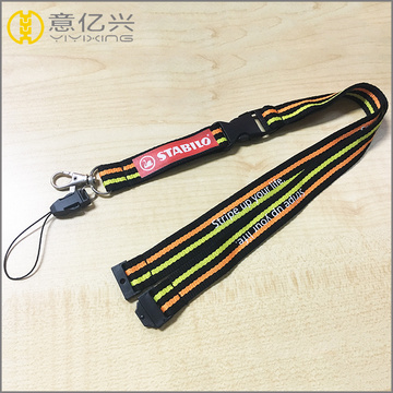 Camera neck braided holder lanyard with metal hook