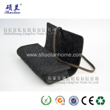 China for Felt Pencil Bag Charcoal color felt pencil bag supply to United States Wholesale