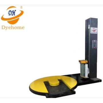 M type turntable pallet packing machine
