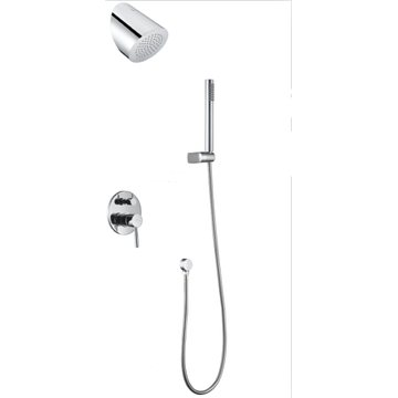 Round Concealed Shower Mixer