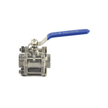 Wholesales irrigation customized din two pieces SS ball valve