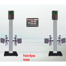Wheel Alignment with Wide Measurement Range