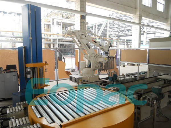 Automatic Rotary Turntable Wrapping Line