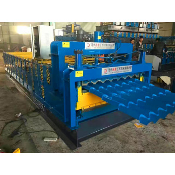 three layer steel sheet roll forming machine