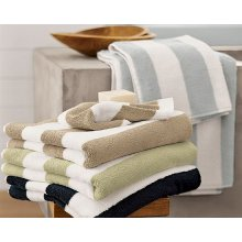 Pure Egyptian Cotton stripe bath towel