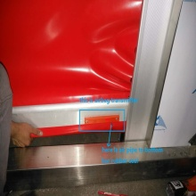 Safety Airbag Sensor For High Speed Door Using