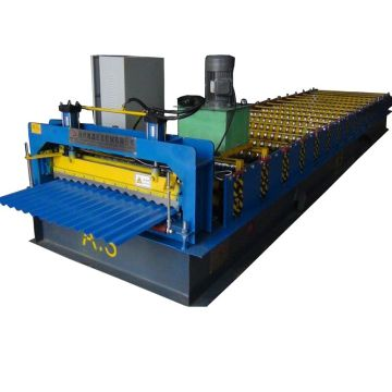 Building roof panel corrugated aluminium sheet machine