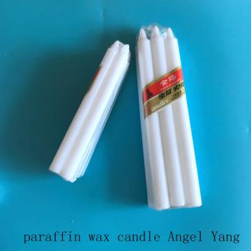 Long and small size bougie candle packing