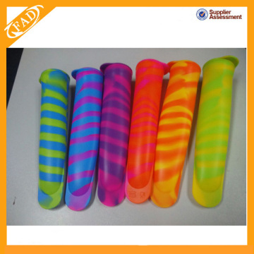 China Factory for Silicone Ice Pop Mold BPA free FDA approved silicone snack container supply to Martinique Factory
