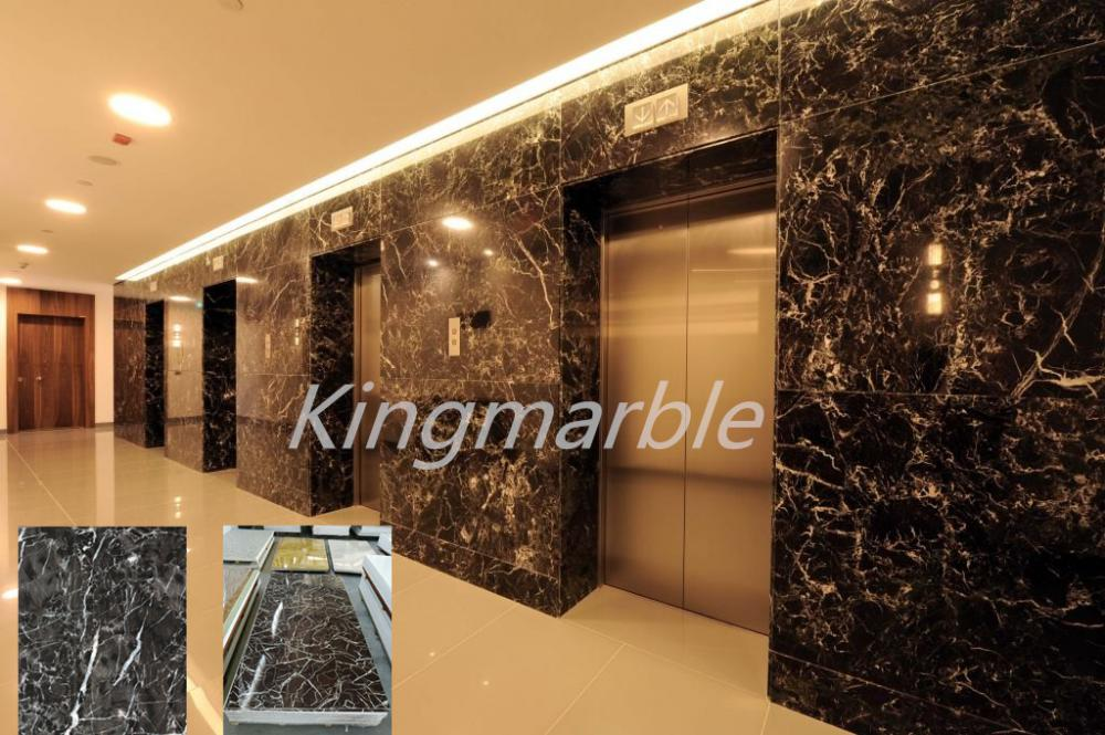 Wholesale High Gloss UV Marble Slatwall Panels