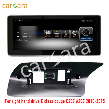 RHD E coupe benz android screen