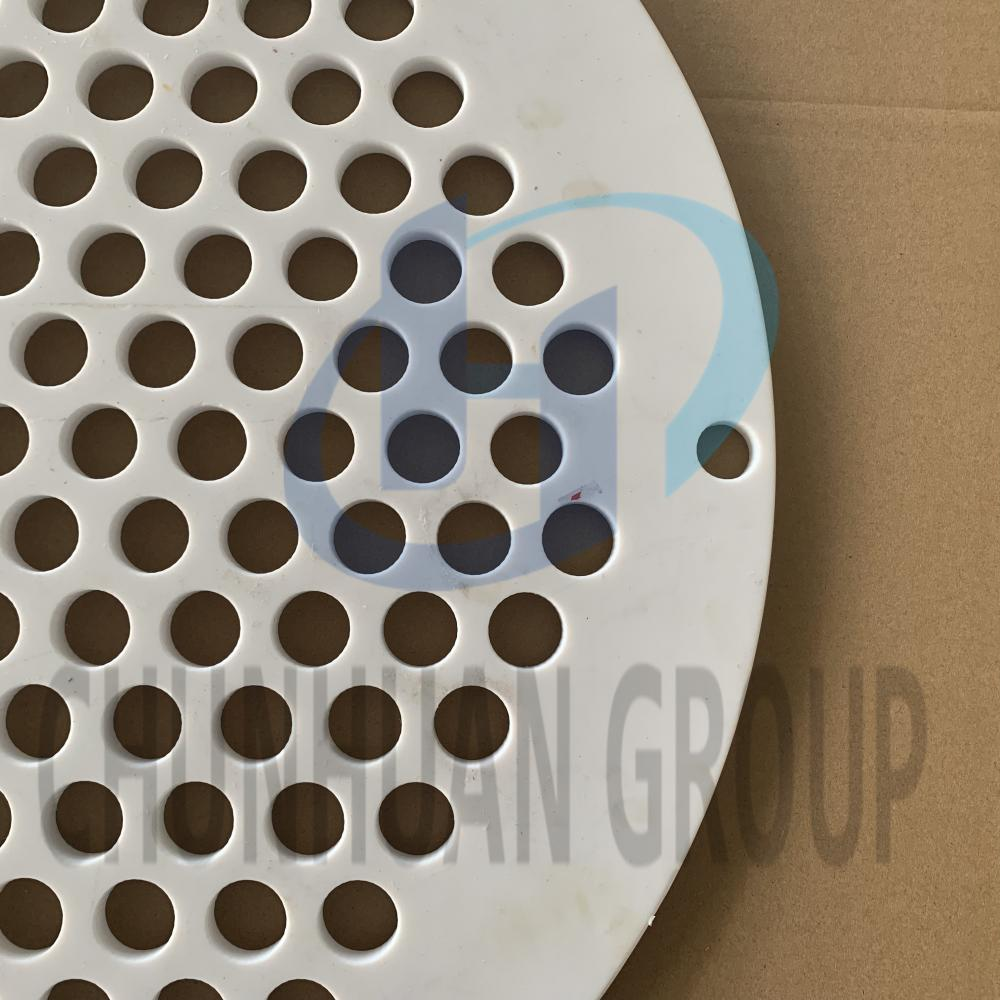 PTFE Round Sheet With Hole