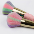 Color Synthetic Hair spiral handle Makeup Brush