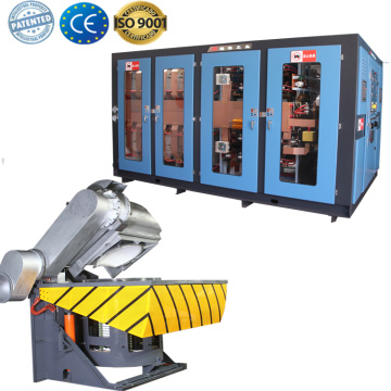 Lead steeI melting equipment induction furnace