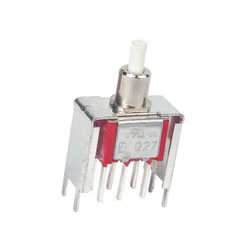 UL Illuminated Momentary Metal Push Button Switch