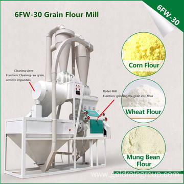 Corn Flour Grits Milling Machine