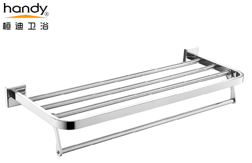 Stainless Steel Polished Bathroom Shelf