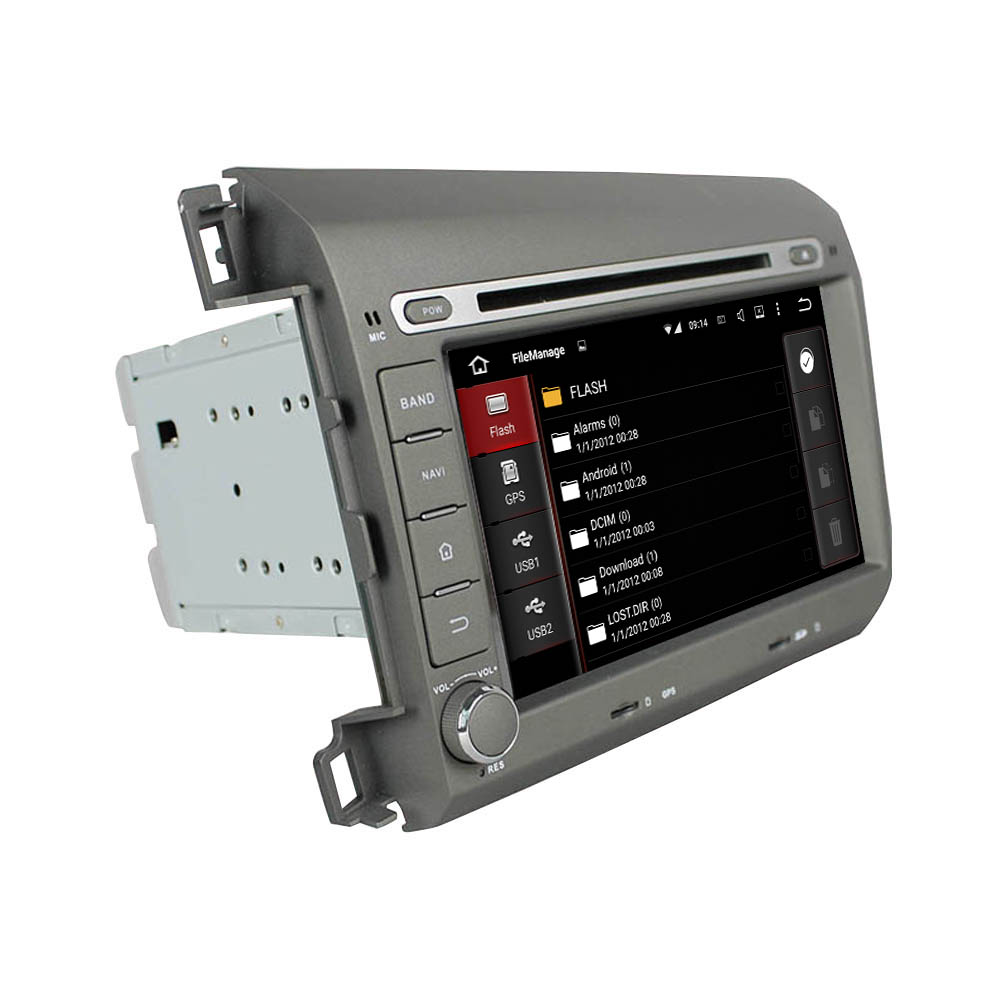 Android car DVD for Honda Civic 2012