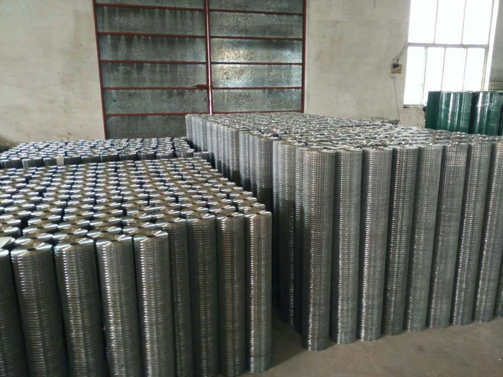 Electro Galvanized Square Hole Welded Wire Mesh