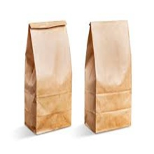 Disposable custom printed kraft paper fast food packaging