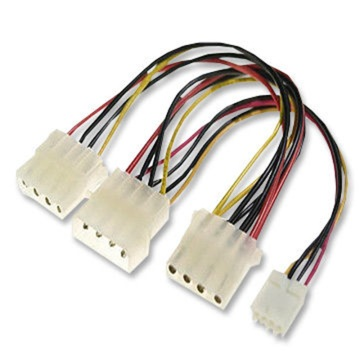 wire harness with clips
