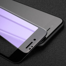 Supply for Hd Tempered Glass For Iphone 8 Plus Anti Blue Light Black Guard for iPhone8 Plus supply to St. Helena Factory