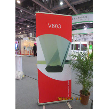 Scrolling Retractable Trade Show Banner For Exhibition