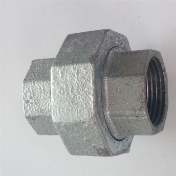 casting malleable iron pipe fittings Plain Union