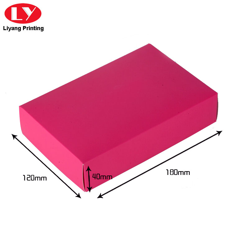 Scarf Paper Box Red