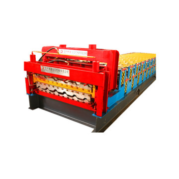 Automatic Glazed and trapezoidal Double Cold Forming Machine