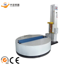 Small paper roll wrapping machine