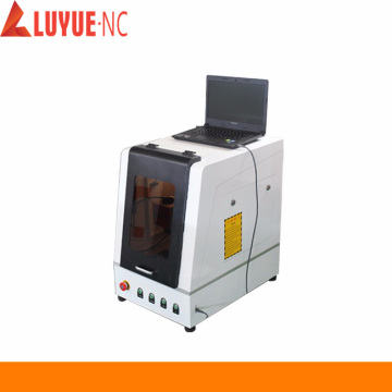 Computer Enclosed Cabinet Fiber Laser Marking Machine