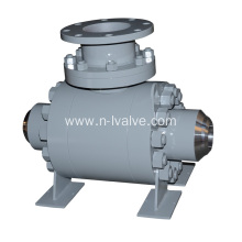 China for Best Trunnion Ball Valve,Metal Seated Ball Valve,Stainless Steel Ball Valve,High Pressure Ball Valve Manufacturer in China Hard Seal Trunnion Ball Valve supply to Honduras Suppliers
