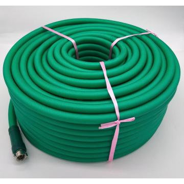 Braided and flexible high pressure spray hose
