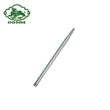Q235 Steel Galvanized Ground Screw