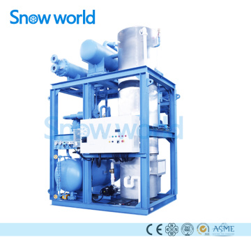 Snow World Tube Ice Machine 15T Water Cooling