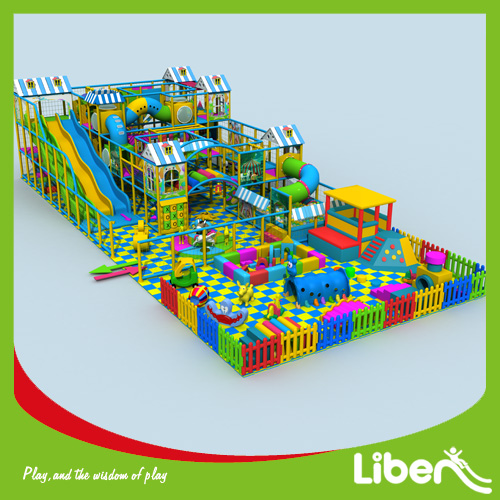 Big indoor amusement playground