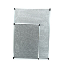 roller retractable insect fly screen window