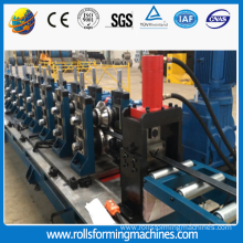 Good Quality for Storage Rack Roll Forming Machine Steel Slotted Angle Making Machine export to Sudan Manufacturers
