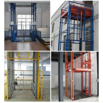 Hydraulic Wall Mounted Vertical Cargo Lifts