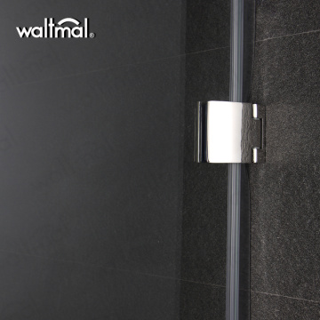 Hot Sale Simple Single Glass Shower Door For Small Shower Unit