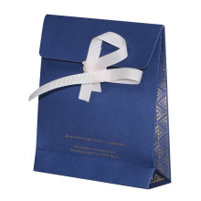 Gift Craft Shopping Paper Bag With Ribbon
