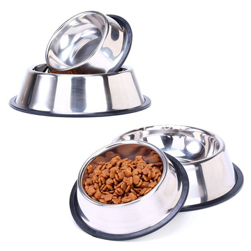 Stainless Steel Pet Bowl Dog Food Bowl
