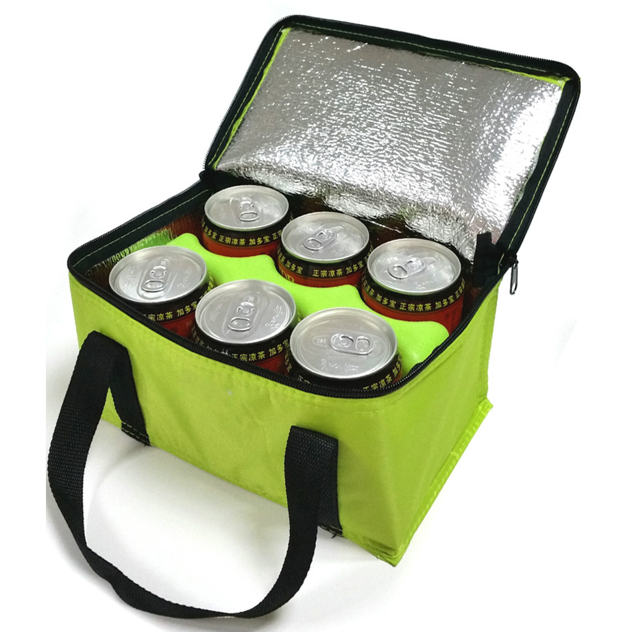 Promotion Cheap Aluminium Foil Non Woven Cooler Bag 3