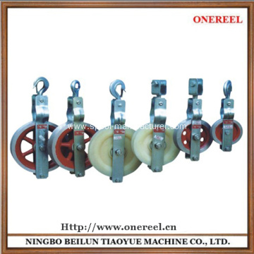 Manufactur standard for Pulley Block rope hoist block and tackle export to United States Wholesale