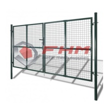 Professional for Metal Fence Panels Privacy Garden Fence Gate for Garden supply to Netherlands Wholesale