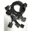 OBD male and female wire harness