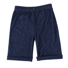 Waistband Wholesale Children`s Soft Denim Capri