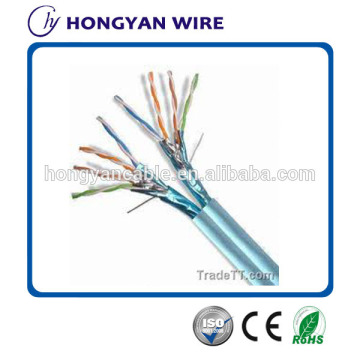 Cat5e ftp cable solid 4p 24awg lan cable