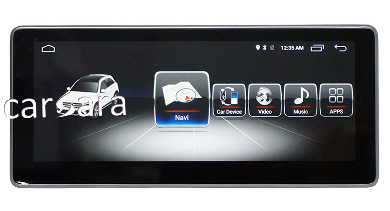Mercedes_Benz A GLA CLA Screen